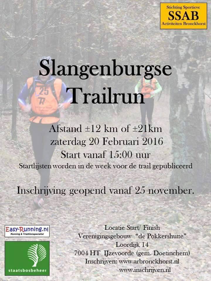 Slangenburgse trailrun