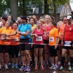 Kaak Kanonsloop kwart en halve marathon 05-10-2014 Marga Geverink